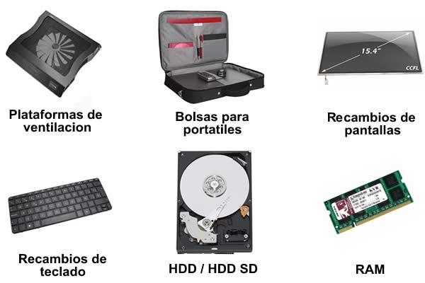 accesorios portatil