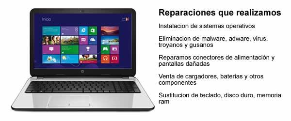 servicio tecnico portatil