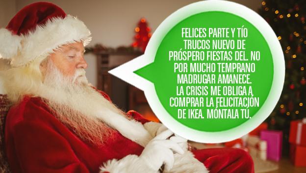 mensaje felicitación Navidad Ikea humor