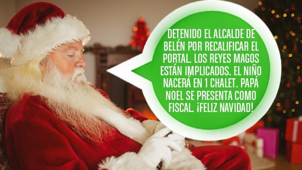 Mensaje felicitación Navidad Portal de Belén