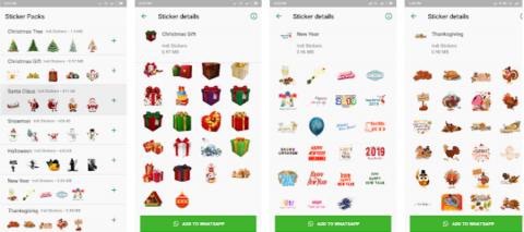 Christmas Stickers App