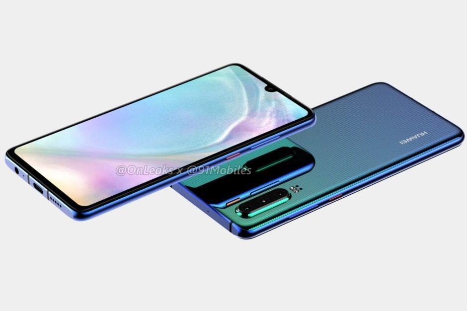 Renders Huawei P30