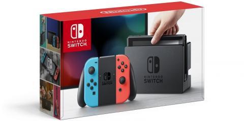 Nintendo Switch Neon consola