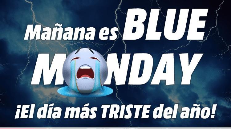 Blue Monday Media Markt