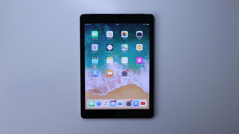 Pantalla del iPad 2018