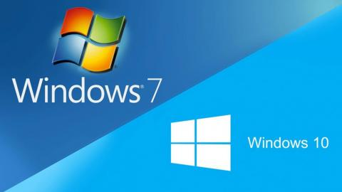Windows 7 a Windows 10