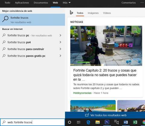 Buscador Windows 10